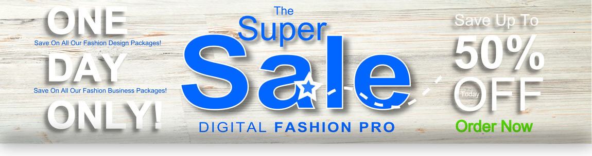 Digital Fashion Pro - Fashion Design Software - For Clothing Design - Official Super Sale
