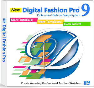 Digital Fashion Pro Version 9 - clothing design software program