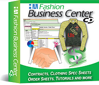 Fashion Business Center - Spec Sheet Templates