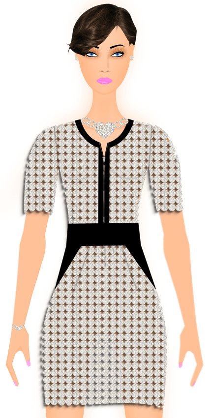 Fashion Design Illustration Dress