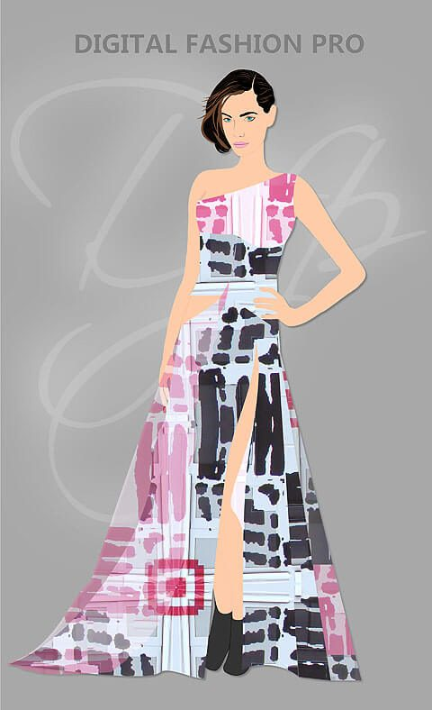 Designer Fashion Online Clothing Start Line Online Shopping - CAD Designing Sketching App