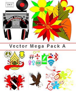 Vector Templates for fashion design