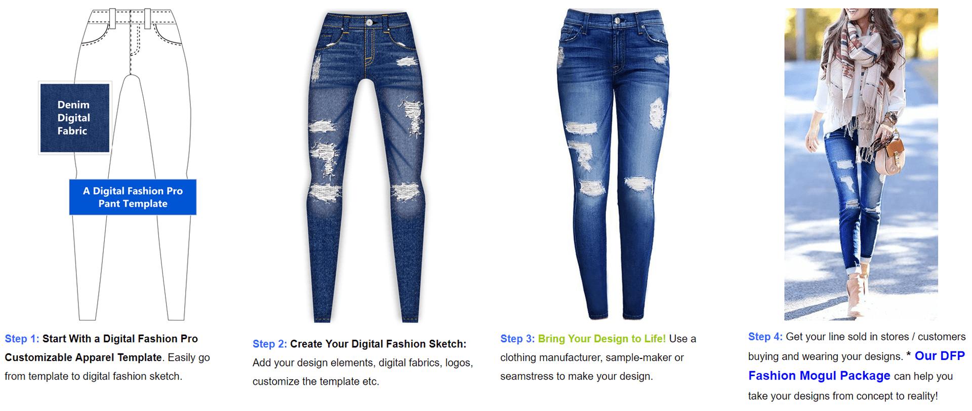 1713b499cab Clothing Design Software - Fashion Illustration Program - by - Digital  Fashion Pro