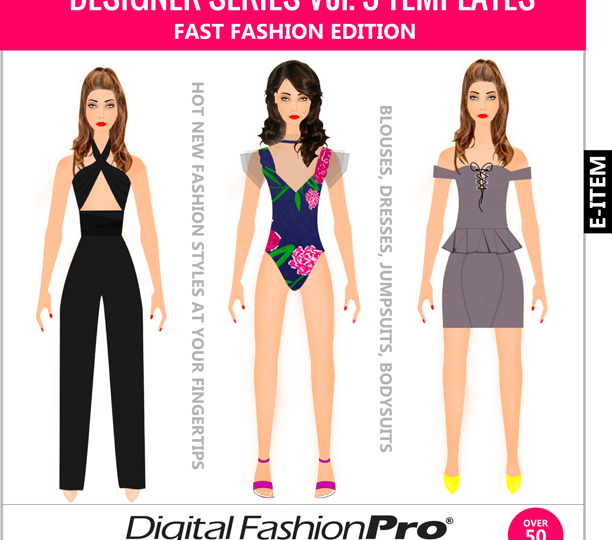 Fashion Design Software - Fast-Fashion---Inspired-by---Forever-21---FashionNova---Shein----Boohoo---Clothing---Templates