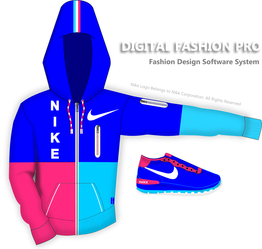 fashion design software - digital fashion sketch