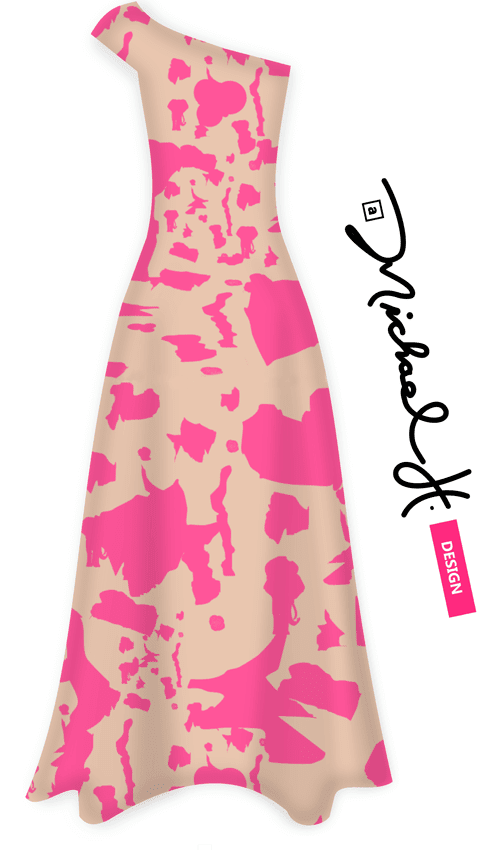 Pink Superforce Maxi Dress
