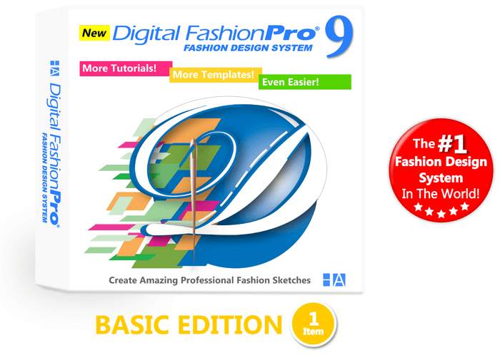 Digital-Fashion-Pro-Basic - Fashion Design Software