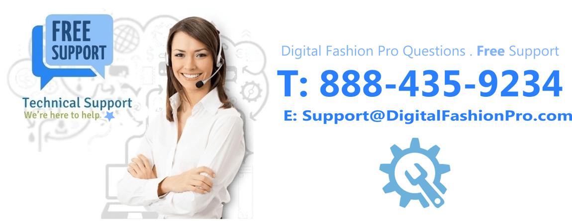 Digital Fashion Pro Tech Support